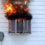 Air Conditioner Fire