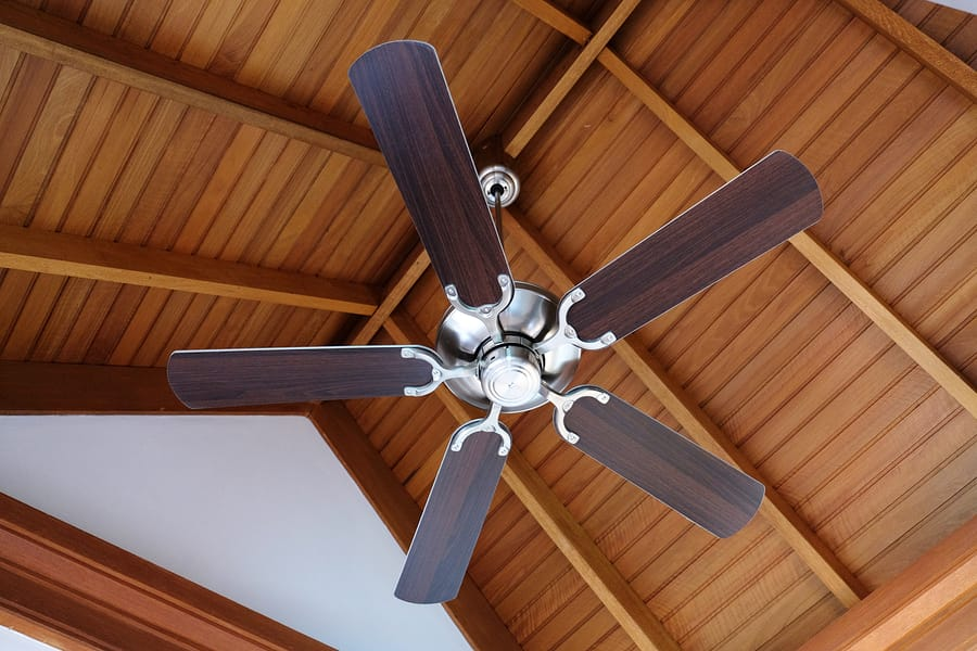 Does My Ceiling Fan Help Or Hurt Air