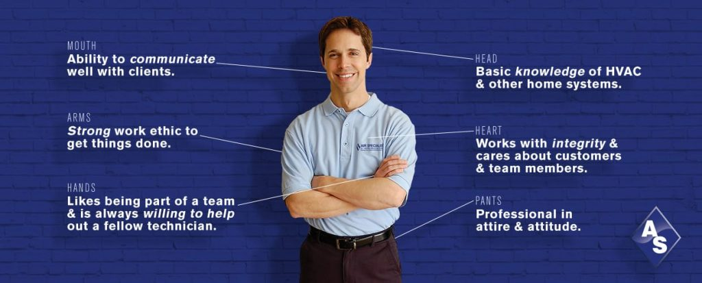 qualities of a technician