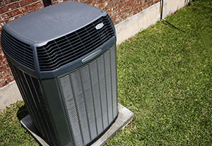 HVAC system at a Houston home