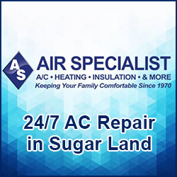 Air Specialist - 24/7 AC Repair Sugar Land, TX