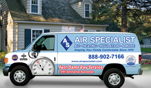Air Specialist - Alvin, TX Heating and Air Conditioning