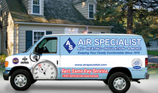 Air Specialist - Bellaire, TX Heating & Air Conditioning