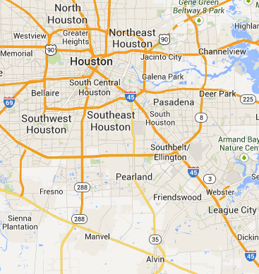 Houston, Texas HVAC Service Area